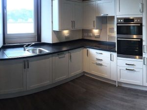 Kitchen installation, Millport